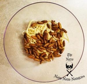tossed over pasta