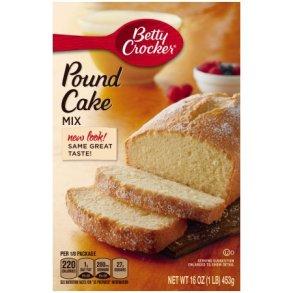 Pound Cake Mix Substitute