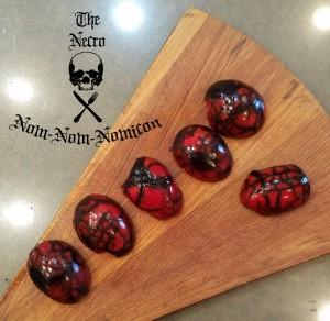 gross red eggs