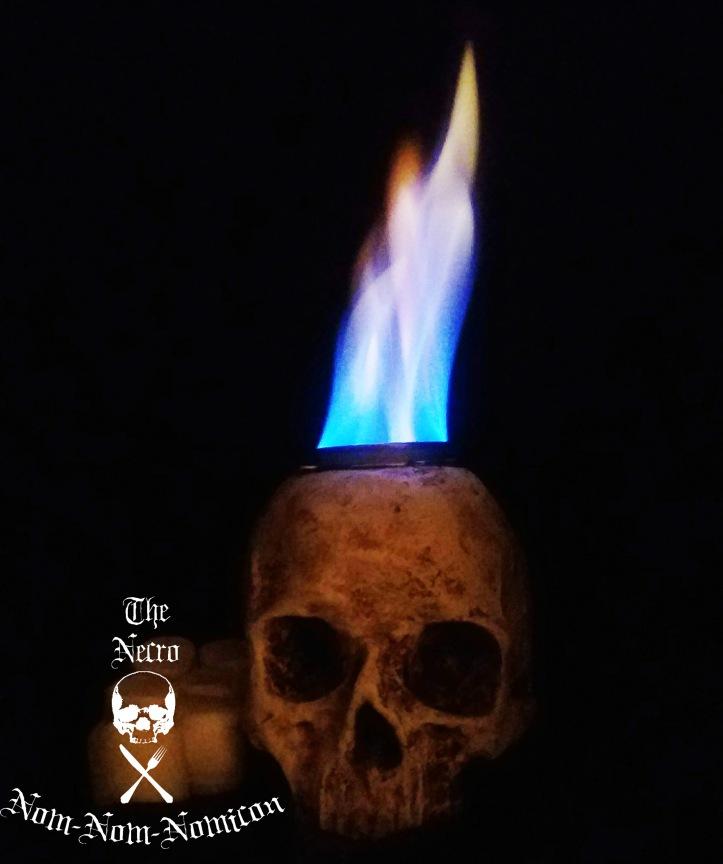 flaming photo