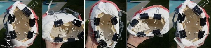 rotational casting progress